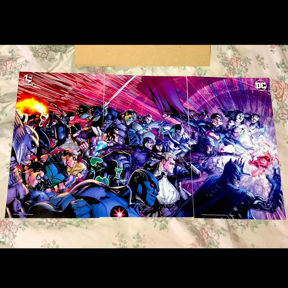 For @missdelilah1985 3 piece DC wall art set